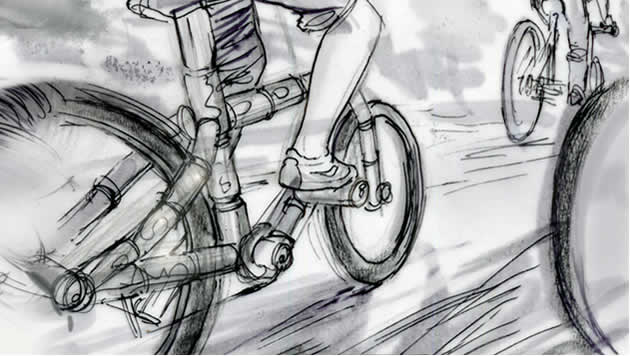 Bikes storyboard
