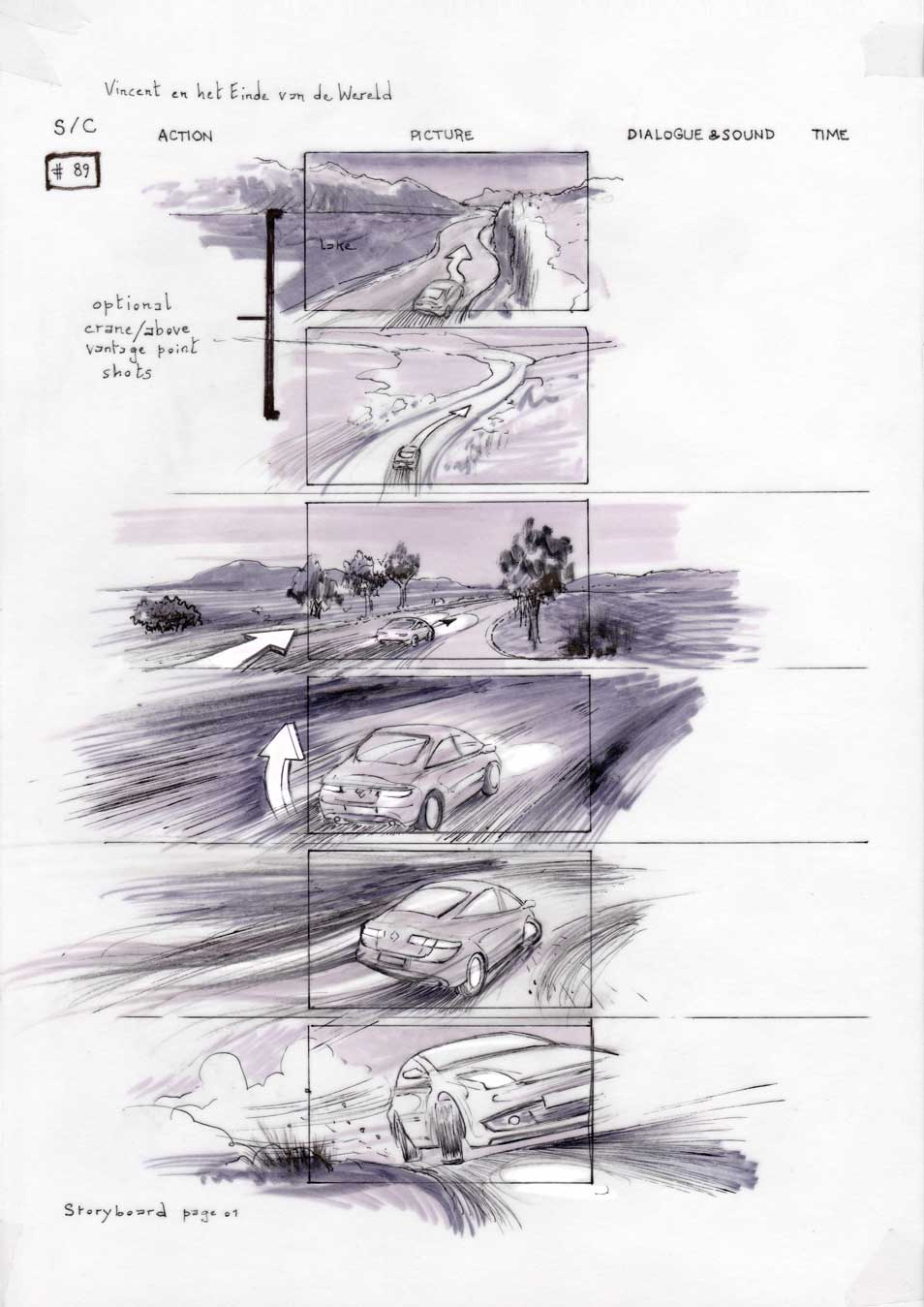 Vincent and the End of the World storyboard 01