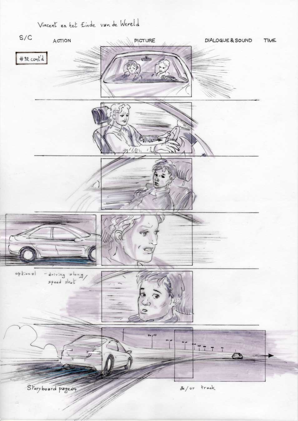 Vincent and the End of the World storyboard 04