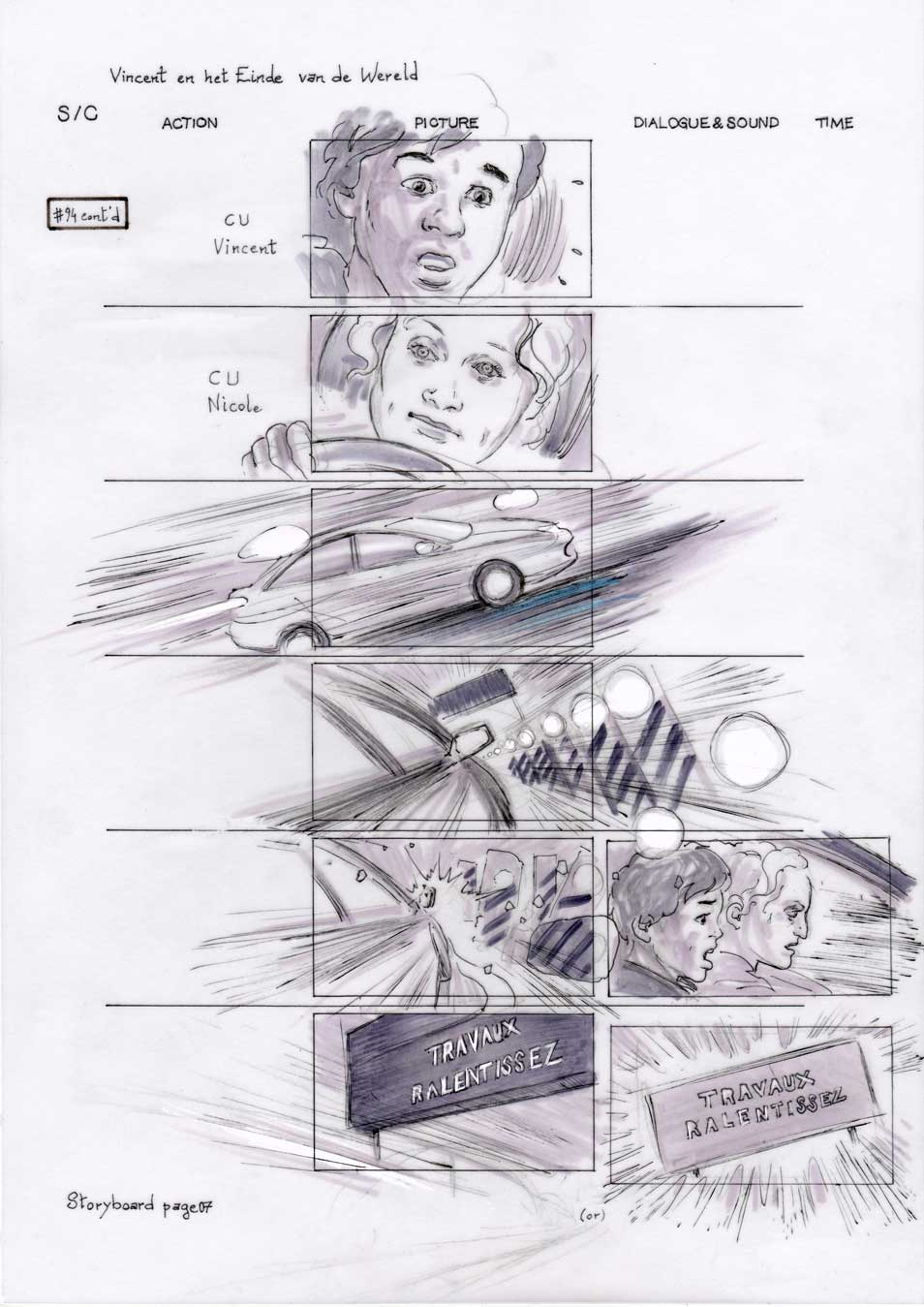 Vincent and the End of the World storyboard 07