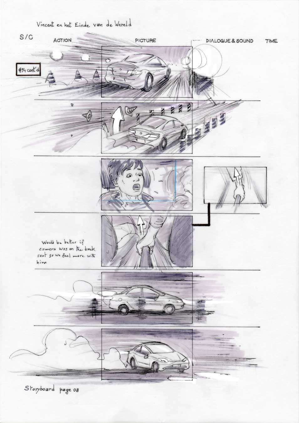 Vincent and the End of the World storyboard 08